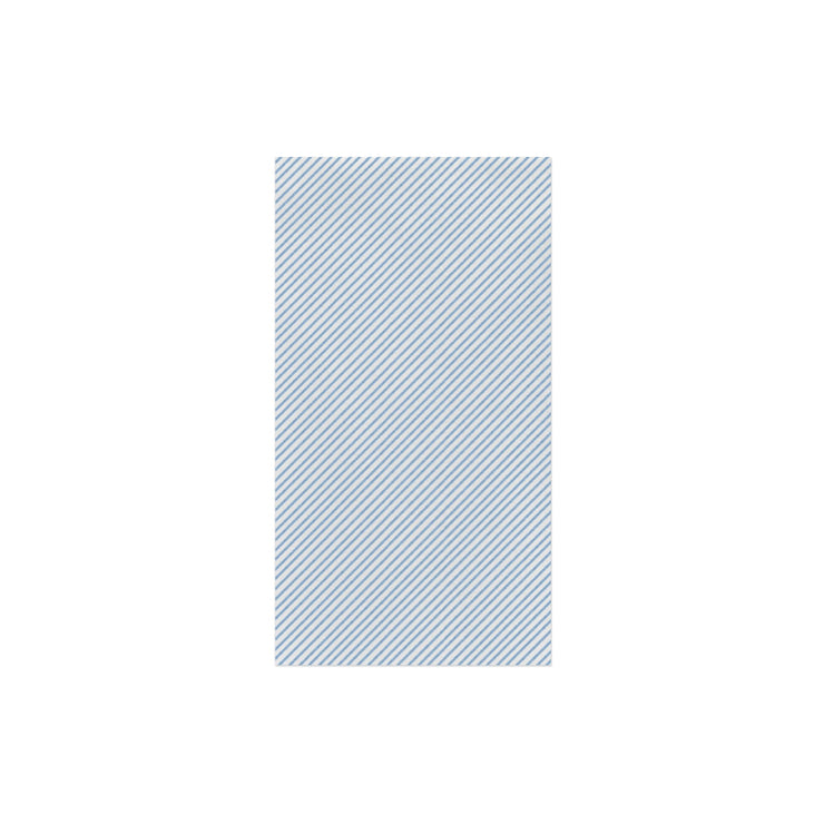 Papersoft Napkins Seersucker Stripe Light Blue Guest Towels (Pack of 20) by VIETRI