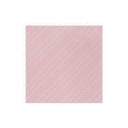 Papersoft Napkins Seersucker Stripe Red Dinner Napkins (Pack of 50) by VIETRI