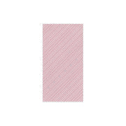 Papersoft Napkins Seersucker Stripe Red Guest Towels (Pack of 50) by VIETRI