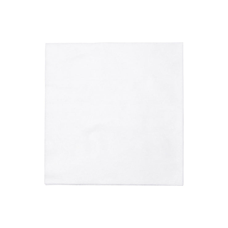 Papersoft Napkins Bianco Solid Dinner Napkins by VIETRI