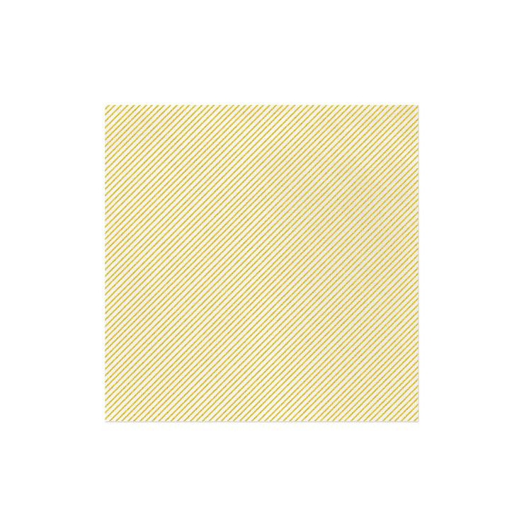 Papersoft Napkins Seersucker Stripe Yellow Dinner Napkins (Pack of 50) by VIETRI