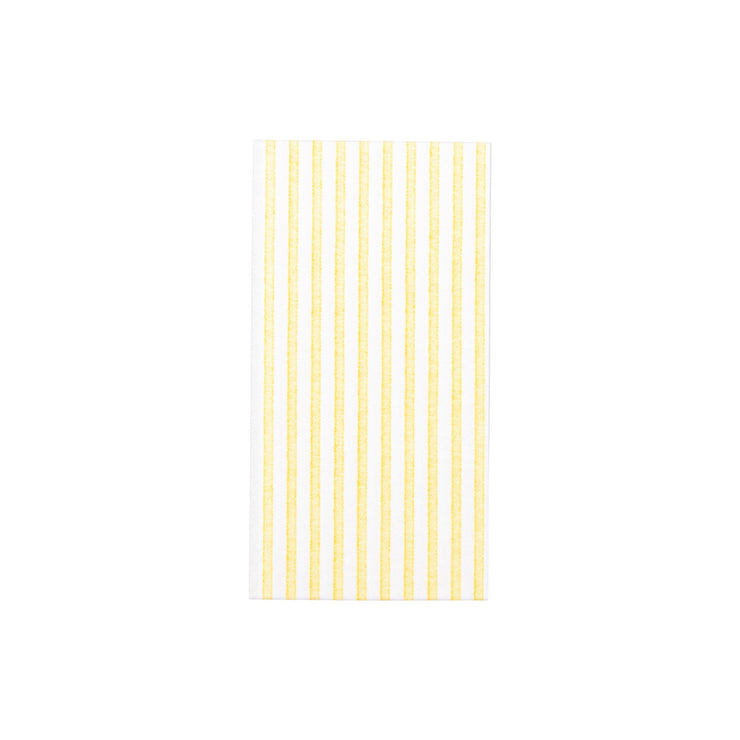 Papersoft Napkins Capri Yellow Guest Towels  by VIETRI