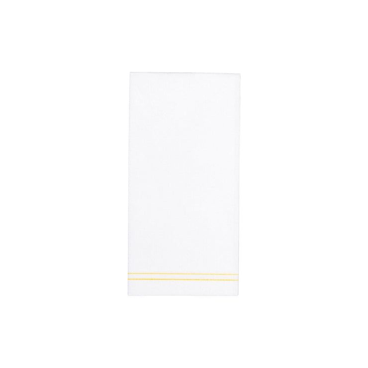 Papersoft Napkins Linea Yellow Guest Towels by VIETRI