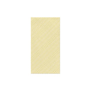 Papersoft Napkins Seersucker Stripe Yellow Guest Towels (Pack of 20) by VIETRI