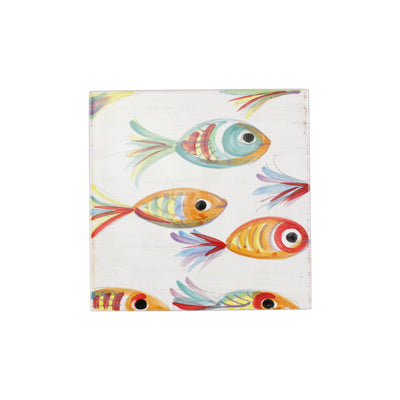 Pesci Colorati Trivet by VIETRI