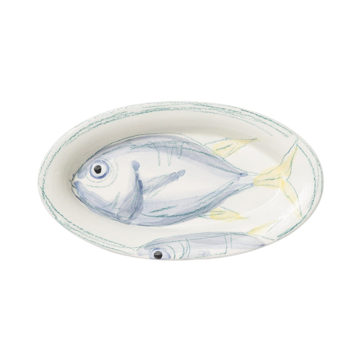 Pescatore Small Oval Tray by VIETRI