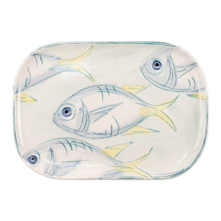 Pescatore Medium Rectangular Platter by VIETRI