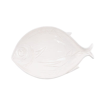 Pescatore White Figural Small Bowl by VIETRI