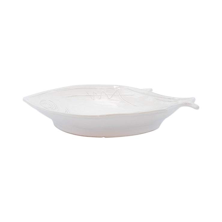 Pescatore White Figural Small Bowl