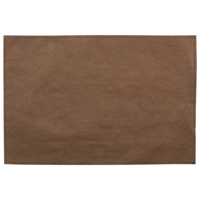 Washable Paper Placemats Brown Placemats - Set of 4 by VIETRI