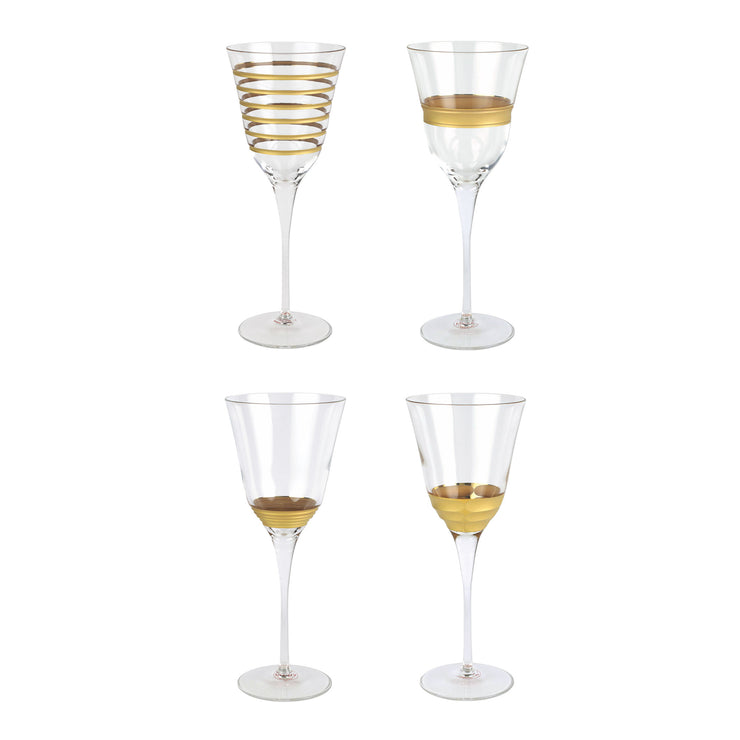 Raffaello Assorted Wine Glasses - Set of 4