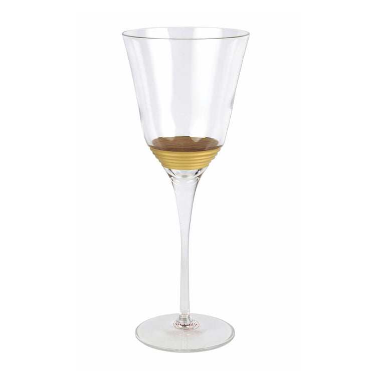 Raffaello Striped Wine Glass
