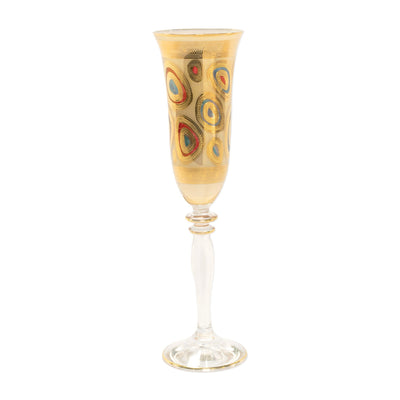 Regalia Cream Champagne Glass by VIETRI