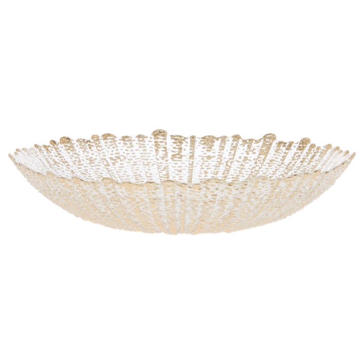 Rufolo Glass Large Serving Bowl