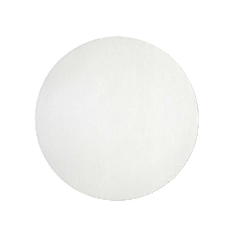 Reversible Placemats Cream/White Round Placemat