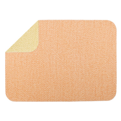 Reversible Placemats Green/Coral Rectangular Placemat by VIETRI