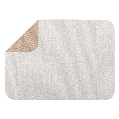 Reversible Placemats Light Gray/Brown Rectangular Placemat  by VIETRI