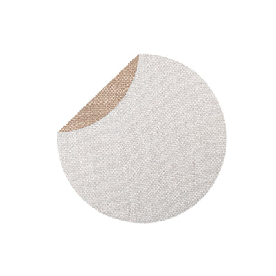 Reversible Placemats Light Gray/Brown Round Placemat  by VIETRI