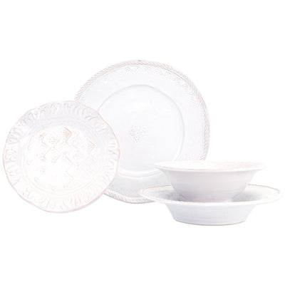 Bellezza Stone Four-Piece Place Setting by VIETRI