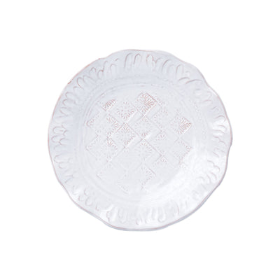 Bellezza Stone White Salad Plate by VIETRI