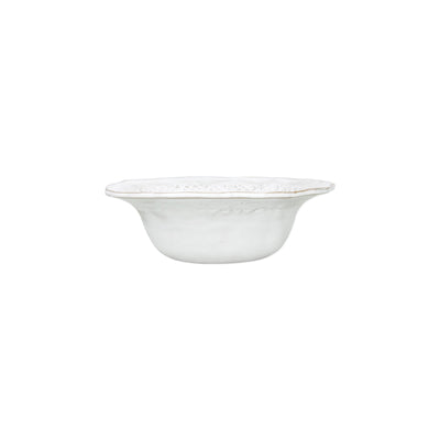 Bellezza Stone White Berry Bowl by VIETRI