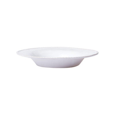 Bellezza Stone White Pasta Bowl by VIETRI