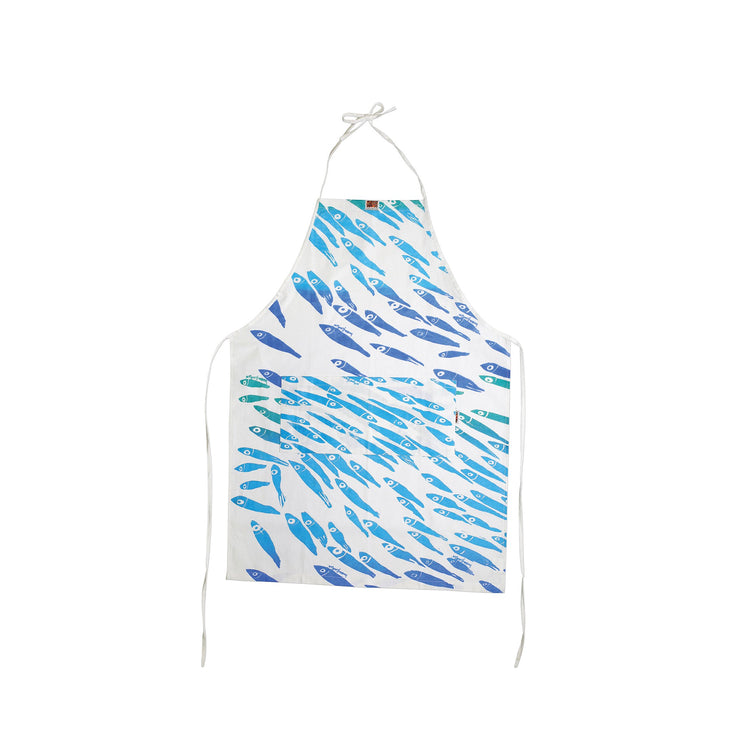 Siciliano Linens School of Fish Children's Apron