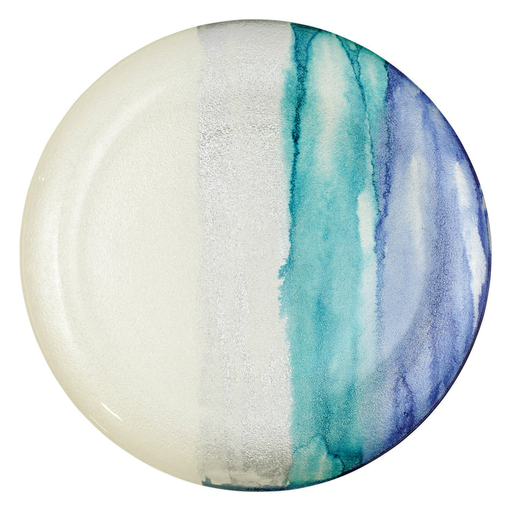 Sea Glass Ombre Round Platter by VIETRI