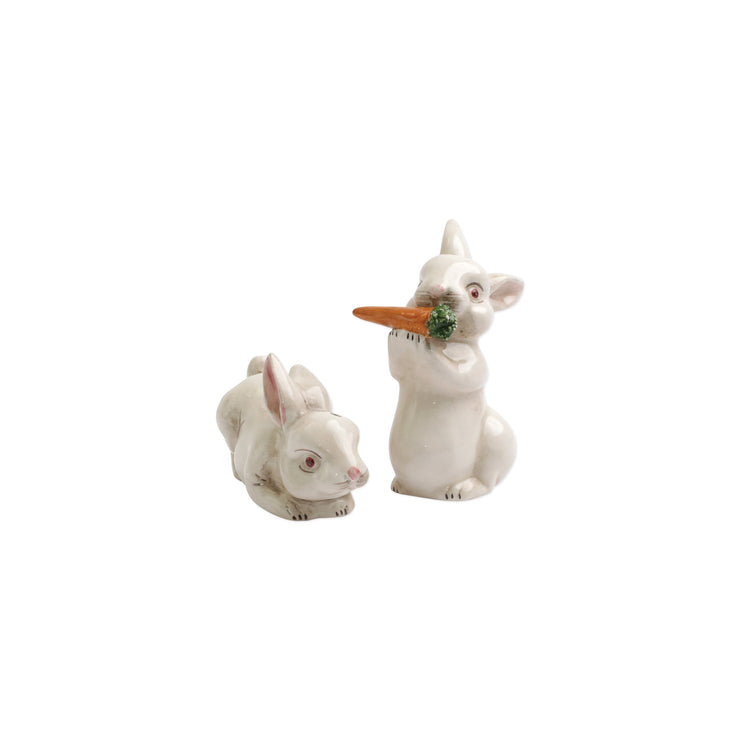 Spring Vegetables Bunny Salt and Pepper by VIETRI