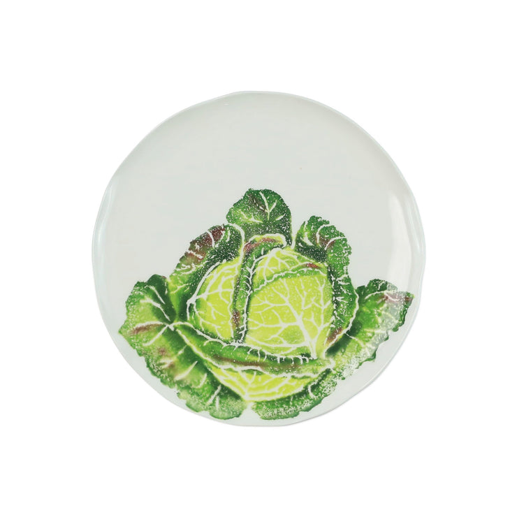 Spring Vegetables Cabbage Salad Plate by VIETRI