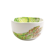 Spring Vegetables Small Deep Serving Bowl by VIETRI