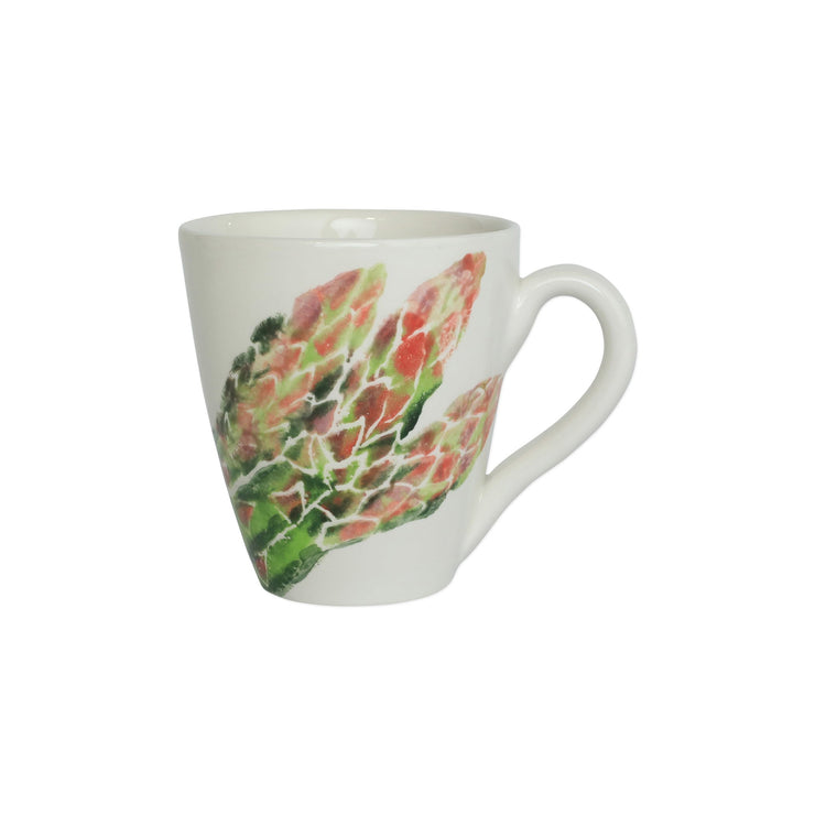 Spring Vegetables Asparagus Mug by VIETRI