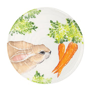 Spring Vegetables Round Platter by VIETRI