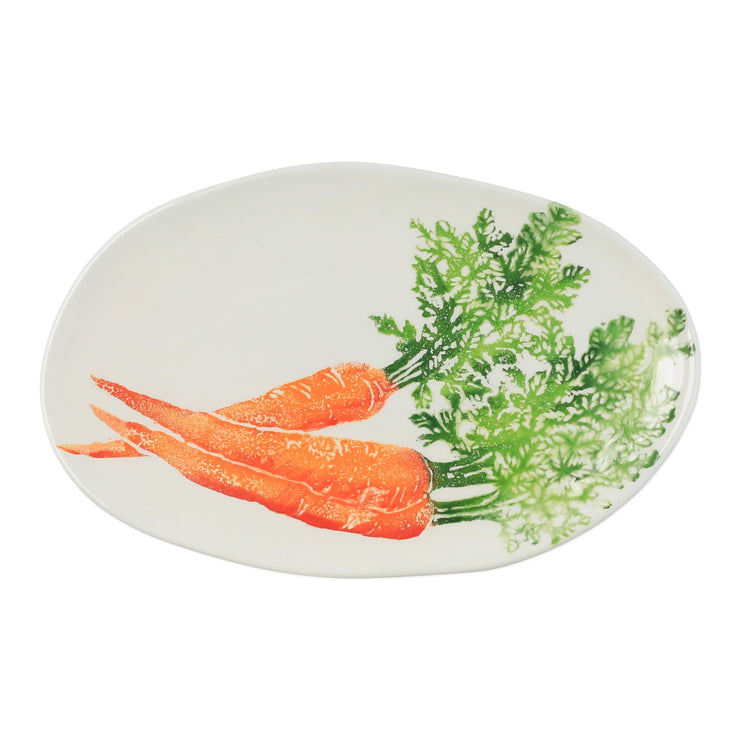 Spring Vegetables Small Oval Platter by VIETRI