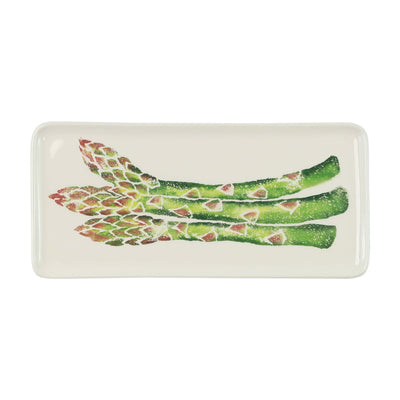 Spring Vegetables Small Rectangular Platter by VIETRI