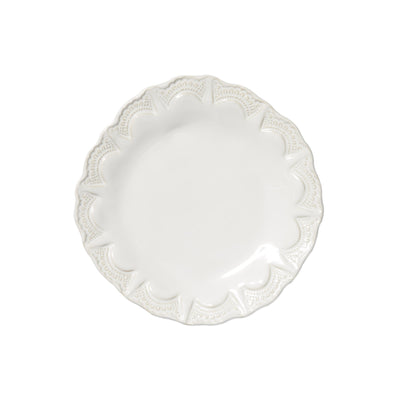 Incanto Stone White Lace Salad Plate by VIETRI