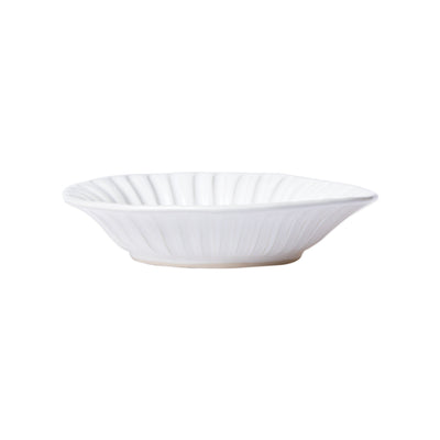 Incanto Stone White Stripe Pasta Bowl by VIETRI