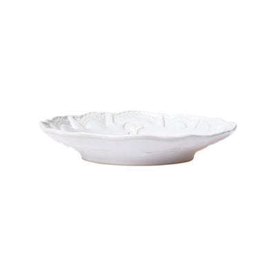 Incanto Stone White Lace Pasta Bowl by VIETRI