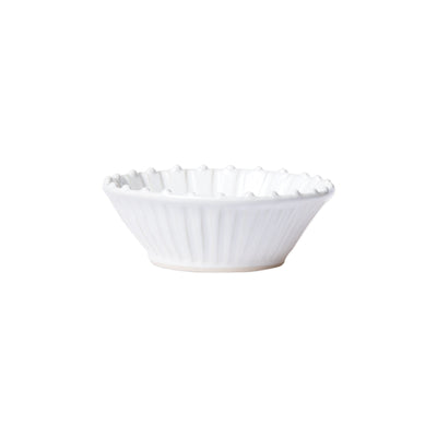 Incanto Stone White Stripe Cereal Bowl by VIETRI