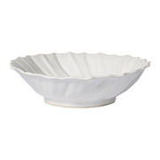 Incanto Stone White Ruffle Large Bowl by VIETRI
