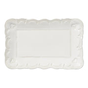 Incanto Stone Lace Small Rectangular Platter by VIETRI