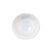 Incanto Stone White Stripe Small Serving Bowl by VIETRI