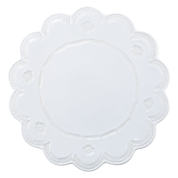 Incanto Stone White Lace Large Cake Stand by VIETRI