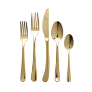 Settimocielo Oro Five-Piece Place Setting