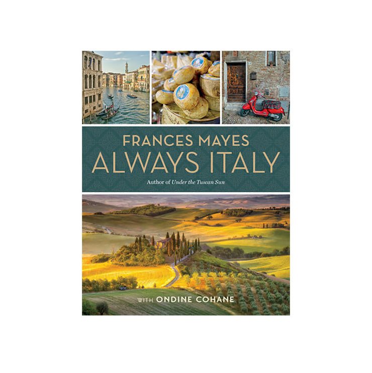 "Frances Mayes ""Always in Italy"" Book Cover"