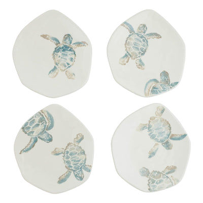 Tartaruga Assorted Salad Plates - Set of 4 by VIETRI