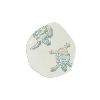 Tartaruga Turtle with Body Salad Plate by VIETRI