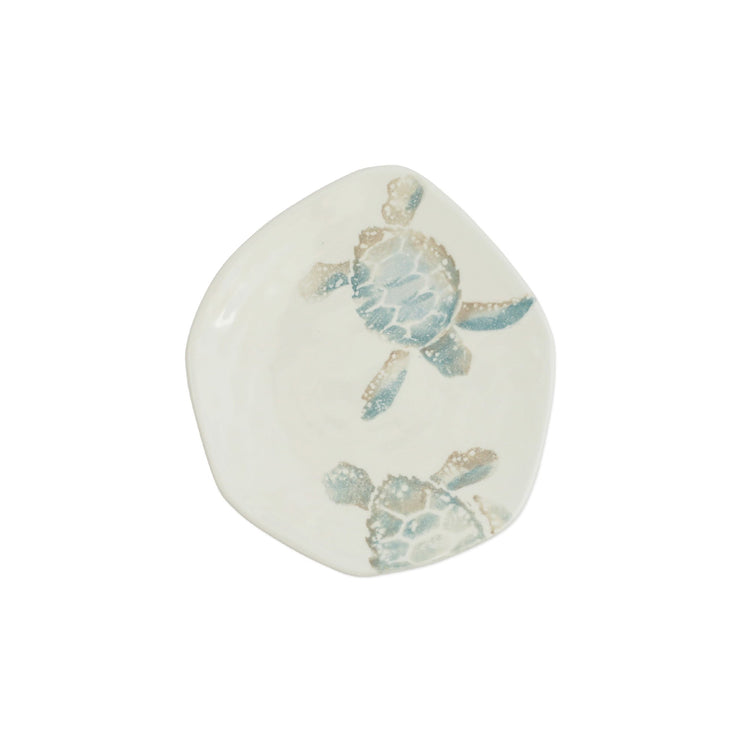 Tartaruga Turtle with Tail Salad Plate by VIETRI