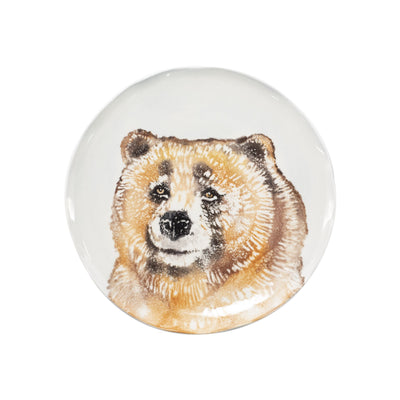 Into the Woods Bear Salad Plate by VIETRI