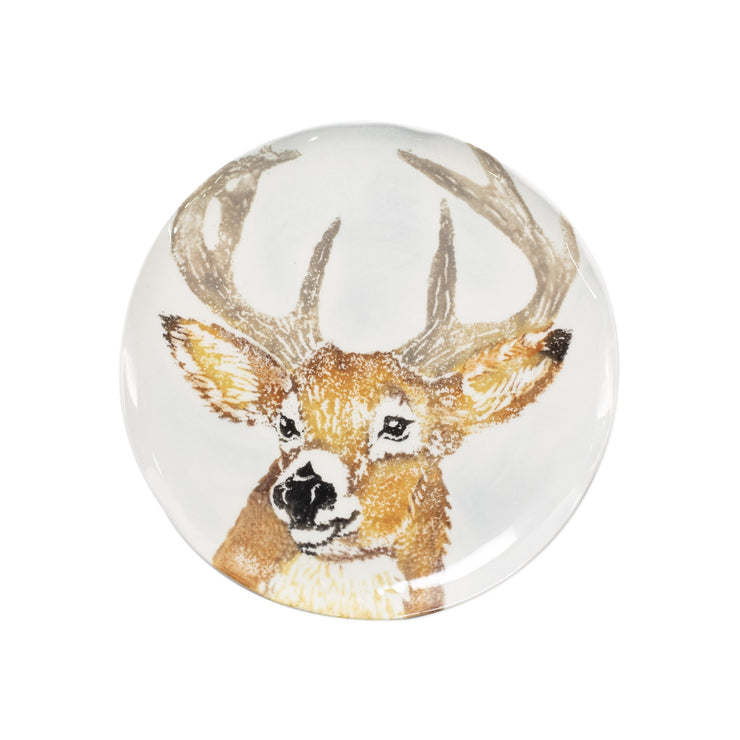 Into the Woods Deer Salad Plate by VIETRI